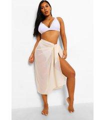chiffon strand sarong, light sand