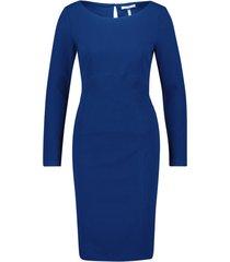 nadia long sleeve scuba bodycon work mini dress
