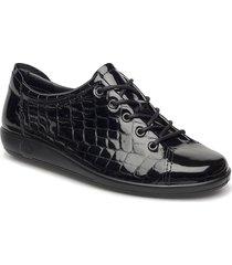 soft 2.0 låga sneakers svart ecco