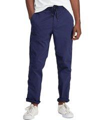 pantalon relaxed fit azul polo ralph lauren