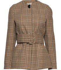 shelly blazers business blazers brun by malene birger