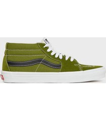 vans ua sk8-mid sneakers green