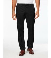 pantalón negro calvin klein recto formal infinite style tech suit
