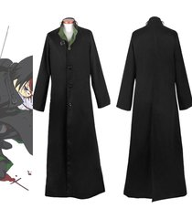 darker than black hei cosplay costume outfit suit business trench coat jacket