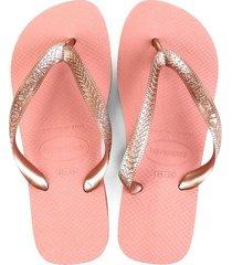 sandalias havaianas  slim nautical  rosa  4000029