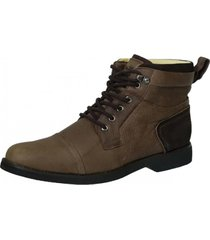 coturno masculino doctor shoes 8617 marrom - kanui