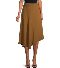 vince women's panel midi skirt - palo santo - size 2