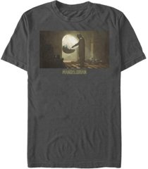 fifth sun men's tinted scene short sleeve crew t-shirt