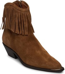booties 4916 shoes boots ankle boots ankle boot - heel brun billi bi