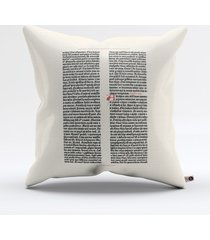 almofada gutenberg bible