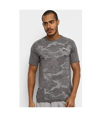 camiseta puma evostripe seemless masculina