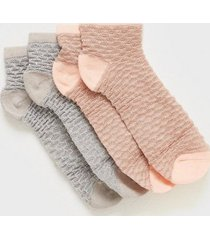 becksöndergaard 2-pack mix sock w. 12 ankelsockar