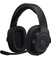 audífono diadema gamer logitech g433 sonido envolvente - negro
