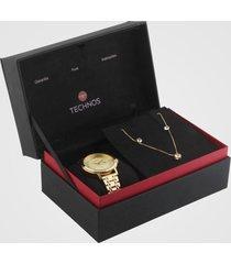 relógio technos 2015ccs/k4x dourado