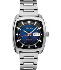 seiko men's automatic recraft series stainless steel bracelet watch 40mm