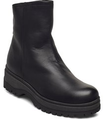 ankle boot shoes boots ankle boots ankle boot - flat svart ilse jacobsen