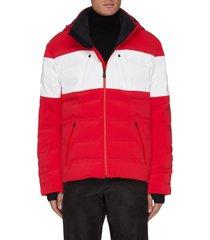 'nuke suit 4.0' waterproof puff hooded jacket