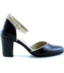 zapato negro briganti mujer abril