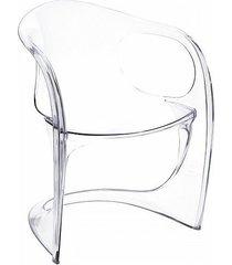krzesło perhentian przeźroczyste
