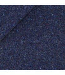 giacca da uomo su misura, bottoli, blu shetland, autunno inverno   lanieri