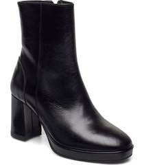 asta shoes boots ankle boots ankle boot - heel svart pavement