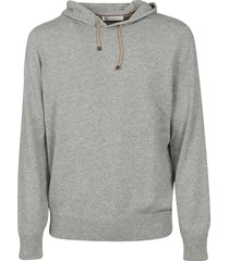 brunello cucinelli classic drawstring hoodie