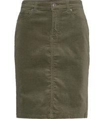 tille skirt knälång kjol grön inwear