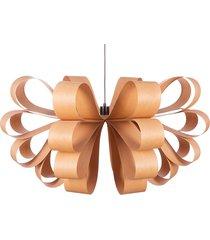 carmen - lampa wisząca z naturalnego forniru