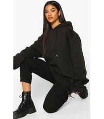 extreme oversized hoodie, zwart