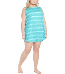 jenni plus size cut out back nightgown, created for macy's