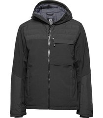 deepsteep jacket m outerwear sport jackets svart salomon