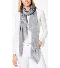 calvin klein chambray woven scarf