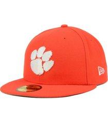 new era clemson tigers ac 59fifty cap