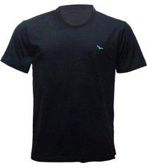 camiseta alma de praia gola redonda lisa
