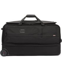 tumi alpha 3 30-inch wheeled duffle bag - black