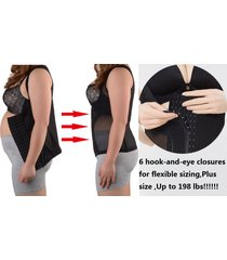 plus size women shapewear vest waist belt corset tummy belly stomach slim shaper