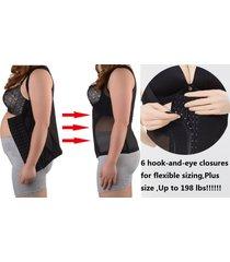 plus size women shapewear vest waist belt corset tummy belly stomach slim shaper