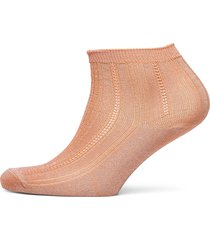 glitter dollie sock lingerie socks footies/ankle socks beige becksöndergaard