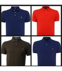 polo ralph lauren men's short sleeve polo shirts- custom fit