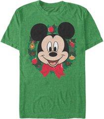 fifth sun men's big mickey holiday short sleeve t-shirt