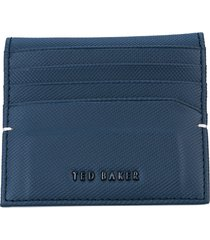 mens wonder micro perf leather card holder