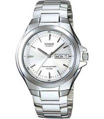 reloj casio analógico mtp-1228d-7a-gris