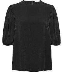 aram ss blouse 12949 blouses short-sleeved zwart samsøe samsøe