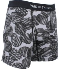 boxer gris y negro pair of thieves