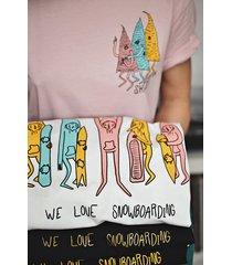 t-shirt snb white longer length