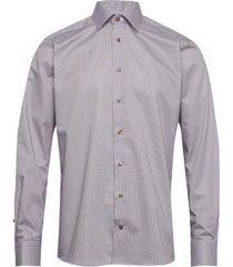 micro flower shirt overhemd business multi/patroon eton