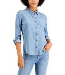 style & co boyfriend shirt, created for macy's