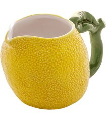 leiteira cerâmica lemons 15x9x9cm