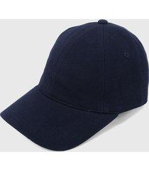 gorra azul  lacoste