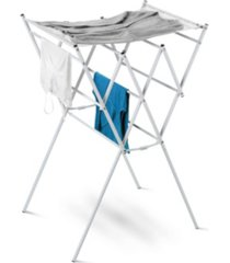 honey can do expandable drying rack with mesh top, white finish
